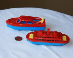1950s toy boats