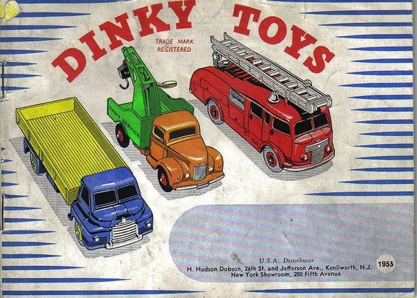 1950s toy dinky toy