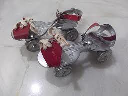 1950s toy roller skates