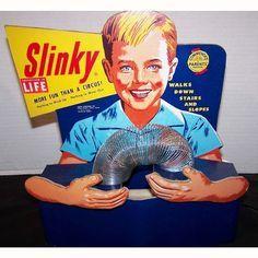 1950s toy slinky