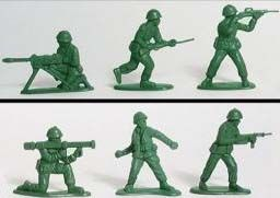 1950s toy soldiers