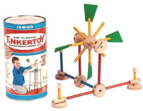 1950s toy tinker toys