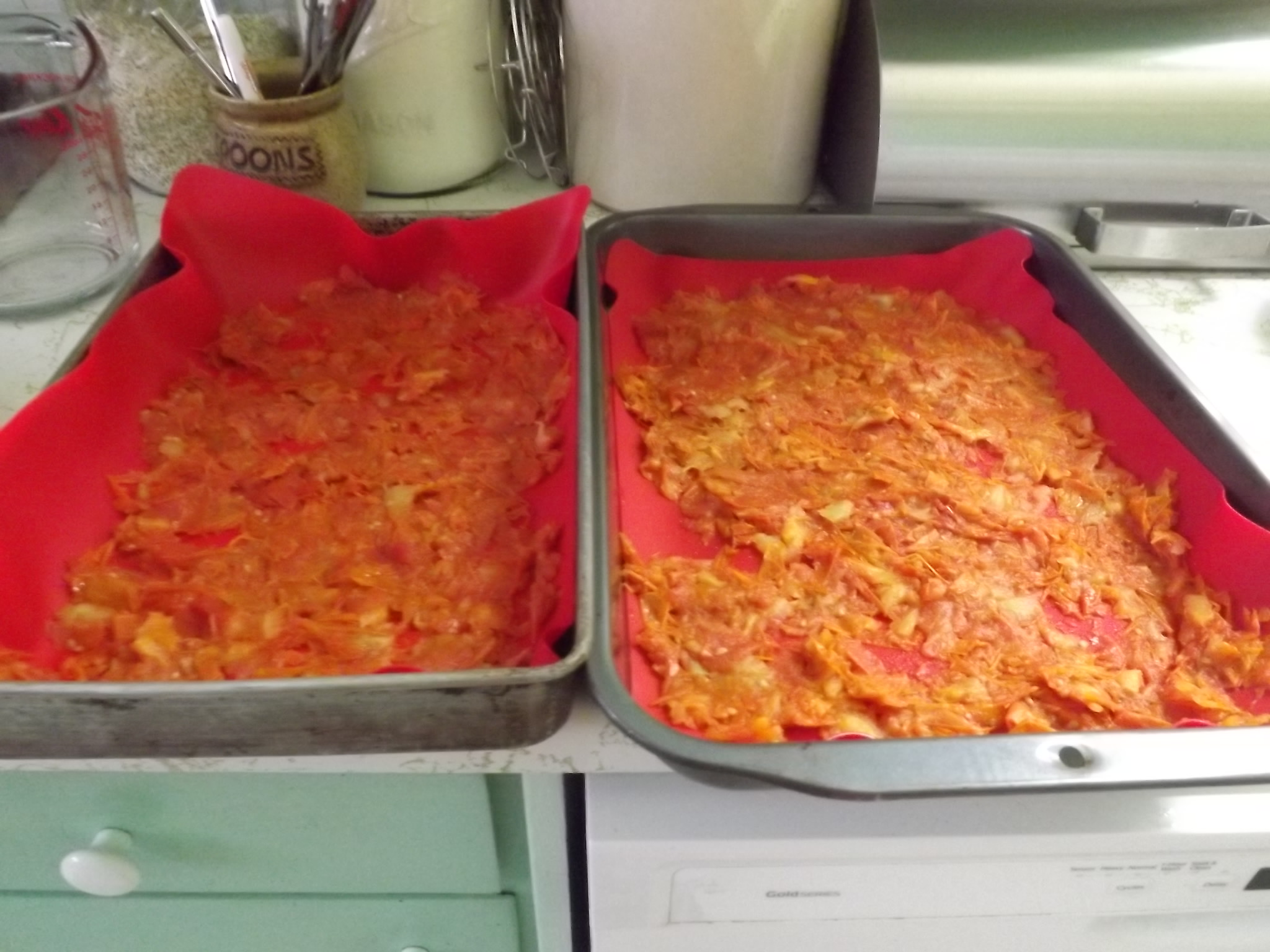 dehydrating tomato skins and seeds