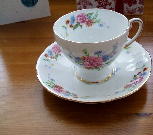 Teacup and Saucer that Belonged to my Maternal Grandmother
