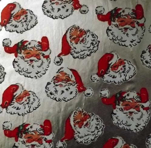 SantaWrappingPaper50s60s