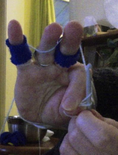 Crochet right hand