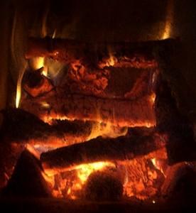 Morning Firing Masonry Heater March 2011