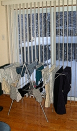 Drying Laundry in the Winter